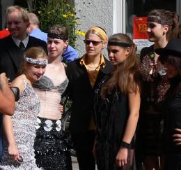 Tilla-Couture trifft marmeladenbrot Modenschau